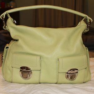 Lime green medium designer Marc Jacobs purse